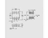 Tranzistor močnostni Mosfet P-Ch 20V 6,7A 2,5W 0,04R SO8