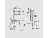 Tranzistor močnostni Mosfet N-Ch 60V 43A 71W 0,0158R TO252AA
