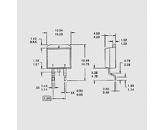 Tranzistor močnostni Mosfet N-LogL 100V 10A 48W 0,18R D2Pak