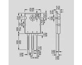 Tranzistor močnostni Igbt N-ch 100V 180A 560W 0,008R TO264AA