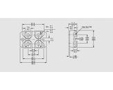 Tranzistor močnostni Igbt N-ch 500V 55A 625W 0,090R SOT227B