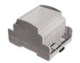 Ohišje ABS DIN Rail svetlo sivo 70x61,7x87,5