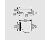 SMD TVS dioda unipolar 600W 28,2V SMB