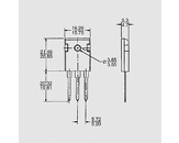 Dioda FRED 200V 68A(2x34) 125W 35ns TO247AD