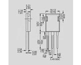 Dioda FRED 200V 68A(2x34) 125W 35ns TO247-Isop